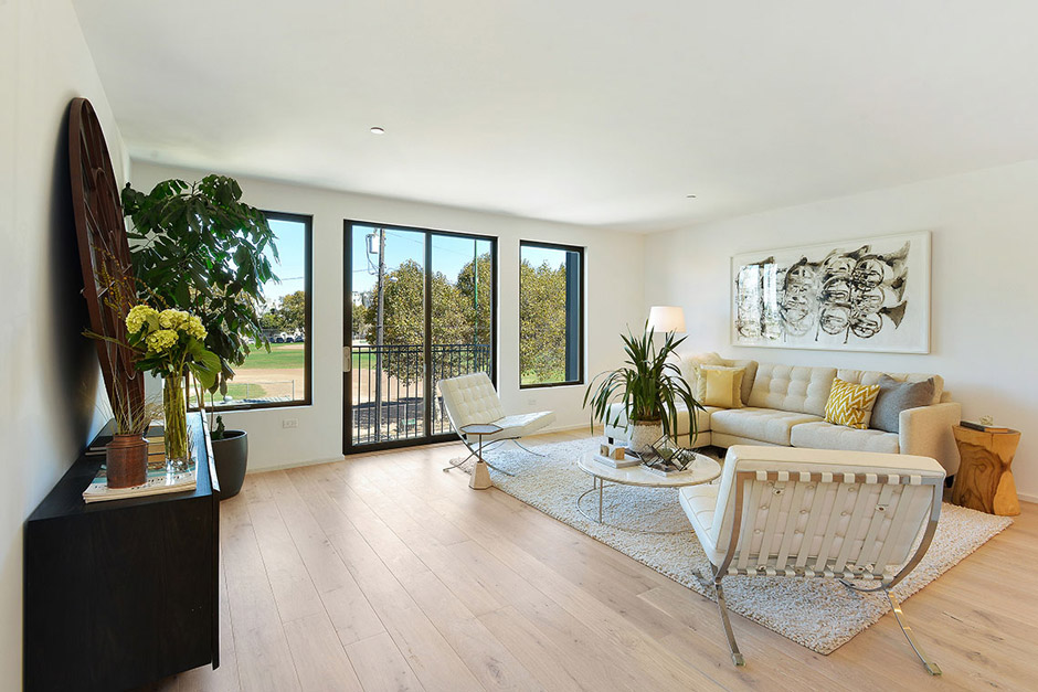 Unit 201 Living Room