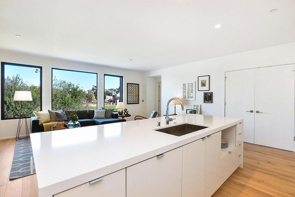 Unit 304 Kitchen/Living Room