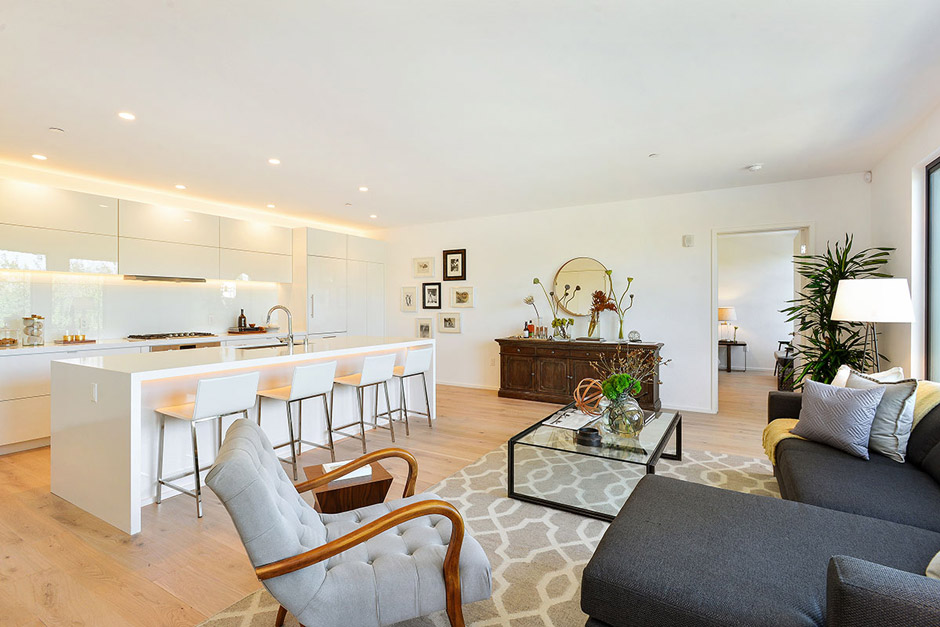 Unit 304 Living Room/Kitchen